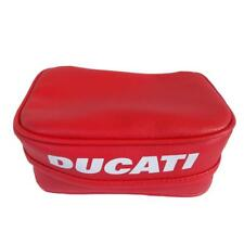 MOTORCYCLE TOOL BAG POUCH DUCATI RED HYPERMOTARD MULTISTRADA with Hard Base