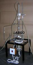 DISTILLATION APPARATUS ALL GLASS (ELECTRICALLY HEATED)