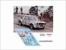 DECALS 1/43 FIAT 131 ABARTH ROHRL RALLY TOUR DE CORSE 1980