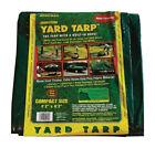 Gosport 8.13 ft. W x 8.13 ft. L Heavy Duty Polyethylene Yard Tarp Gre -Pack of 1