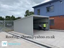 steel framed building Steel shed, Building, Storage unit,carport,Car wash,Leanto