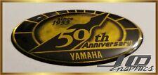 yamaha 50th anniversary sticker decal