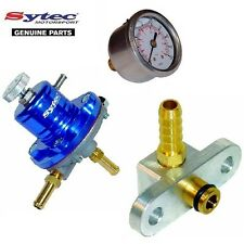 SYTEC FUEL PRESSURE REGULATOR KIT + FUEL GAUGE - SUBARU IMPREZA WRX STI 01-07