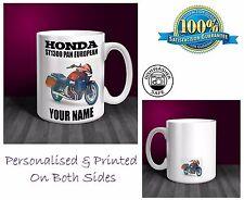 Honda ST1300 Pan European Motorbike Personalised Ceramic Mug Gift (MB051)