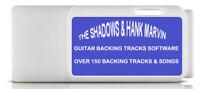 The Shadows & Hank Marvin Guitar Backing Tracks 155 Songs MP3 USB