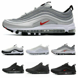 NIKE Air Max 97 Sport Shoes Men&Women Trainers Breathable Comfy LOT UK SIZE:3-10