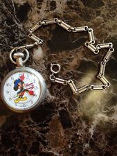 Vintage MICKEY MOUSE BICENTENNIAL POCKET WATCH