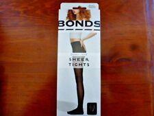 Ladies Bonds Comfy Tops Sheer Tights Black Medium