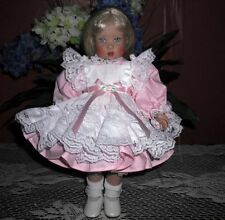 Bitty Bethany Pink Pinafore Dress
