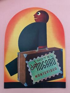 Luggage Label Hotel Nogaro, Montevideo - (bellhop - bellman)