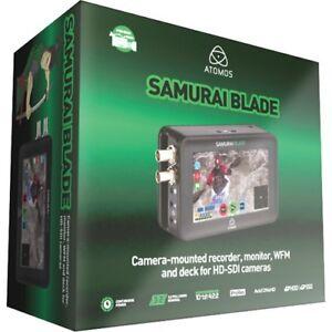 Atomos Samurai Blade SDI HD HDSDI video recorder 5 inch Mint condition