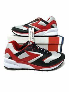 Brooks Mojo Men's Running Athletic Shoes8/8.5/10.5/12 Black/True Red/Lunar Rock