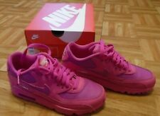 Nike Air Max 90 leather hot pink fuchsia trainers RRP £70 UK 4 US 4.5 EUR 36.5