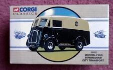 CORGI Factory error Morris J Van Birmingham City transport Manager genetal