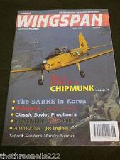 WINGSPAN #124 - THE SABRE IN KOREA - JUNE 1995