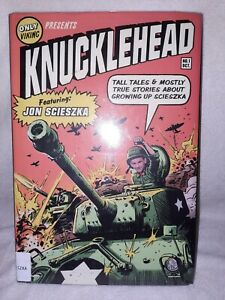 Knucklehead By Jon Scieszka- hardcover- like new condition