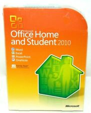 Microsoft Office Home and Student 2010 Sealed Brand New Word, Excel, etc.
