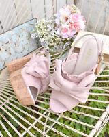LIZ LISA - Cork heels ribbon sandals