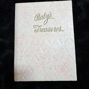 Vintage Watt & Shand Lancaster PA Baby's Treasures Baby Book R S Kalwajtys 1943