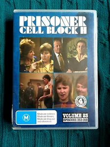 PRISONER CELL BLOCK H – VOLUME 23 – DVD, 4-DISC  - R-ALL, VERY GOOD, FREE POST