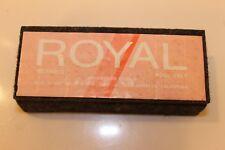 Vintage NOS Royal Felt Chalkboard Eraser