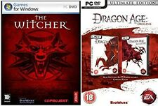 the witcher & dragon age origins ultimate edition