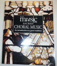Music Magazine Sacred Choral Music Spring 1996 032515R2
