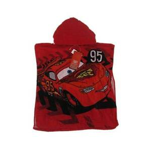 New Officially Licensed Disney Pixar Cars Hooded Towel One Size Swimming Boys