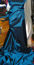"1M metalic blue   TAFFETA  FABRIC 58"" WIDE"