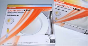 """SYLVANIA Lightify 65W Eq Dimmable Smart Connected LED 5"""" or 6"""" Recessed Retrofit"""
