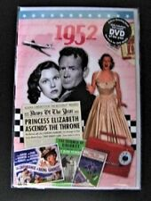 24022 1952 DVD Card DVDCARD Birthday Greeting History