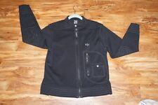 nautica Jeans Company Zipper Up Light Jacket S/p. Black