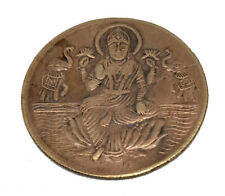 ONE ANNA 1818 COPPER MAA LAKSHMI ANTIQUE OLD COIN