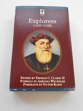 Explorers Card Game Educational Learning Made Fun New in Box