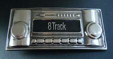 8 Track Cassette Belt Buckle Car Stereo Radio Classic Cool Metal Boucle Ceinture