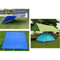 Ultralight Tarp Lightweight Mini Sun Shelter Camping Tent Footprint Portable