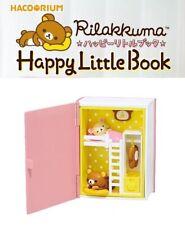 RE-MENT Hakorium Rilakkuma Happy Little Book Toy Figure #1 Bedroom Korilakkuma