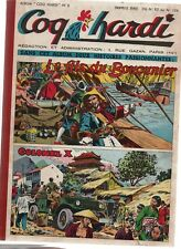 COQ HARDI Album n°8. Nouvelle série n°92 à 104 - 28 août à 20 novembre 1952