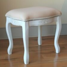 Remarkable Vanity Stool Bench For Sale Ebay Theyellowbook Wood Chair Design Ideas Theyellowbookinfo