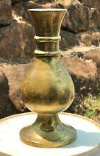 Antique Australian Brass Posy Vase, Edmund J Dwyer of Sydney, c.1904 - 1908