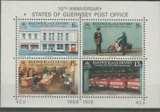Guernsey, Bloc de timbres neuf MNH, bien