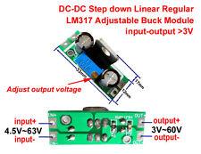 Mini DC-DC 4.5~65v to 5v 9v 12v 24v 48v Buck Step-down Regulator Converter Board
