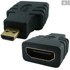 HDMI Female to Type D Micro HDMI Male Adapter Convertor for HD TV Camera Phone