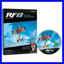 BRAND NEW GREAT PLANES REALFLIGHT 8 RF8 UPGRADE DISK / SOFTWARE ONLY GPMZ4558 !!