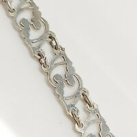 Sterling Silver 925 7 inches bracelet style filigree solid jewellery  R98.