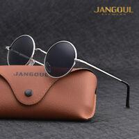 Vintage Polarized John Lennon Sunglasses Hippie Retro Round Mirrored Glasses JG2