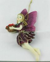 FAIRY// FAIRY CLOCK //HAND PAINTED//COLLECTABLE//31108// BY DEZINE//NEW
