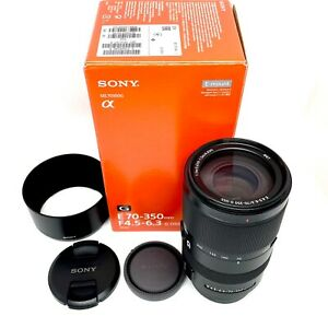 Sony SEL70350G 70-350mm AF f/4.5-6.3 G OSS E-Mount Lens - Excellent Condition