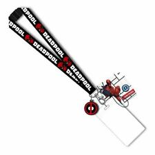 Marvel Deadpool Lanyard with PVC Dangle New
