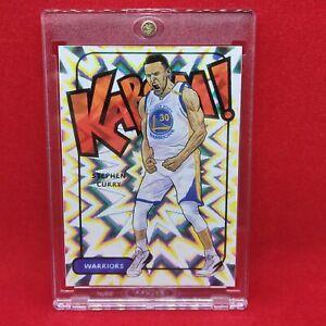 Steph Curry 2016-17 Kaboom Sticker Golden State Warriors MINT